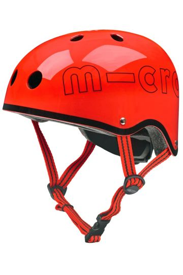 Casco Rojo Brillante