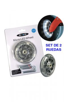 Rueda LED Mini Micro 120mm