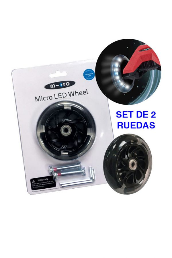 Rueda LED Maxi Micro 120mm