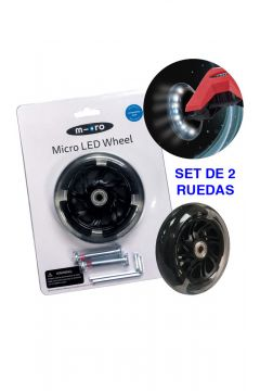 Ruedas LED Maxi Micro 120mm