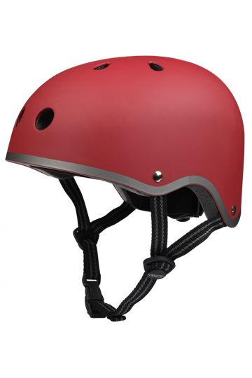 Casco Rojo Mate