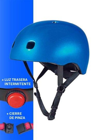 Capacete Azul Metalizado V2