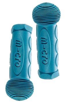 Rubber handles Aqua