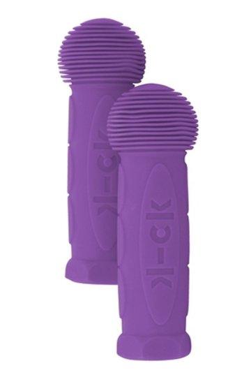 Rubber handles Purple