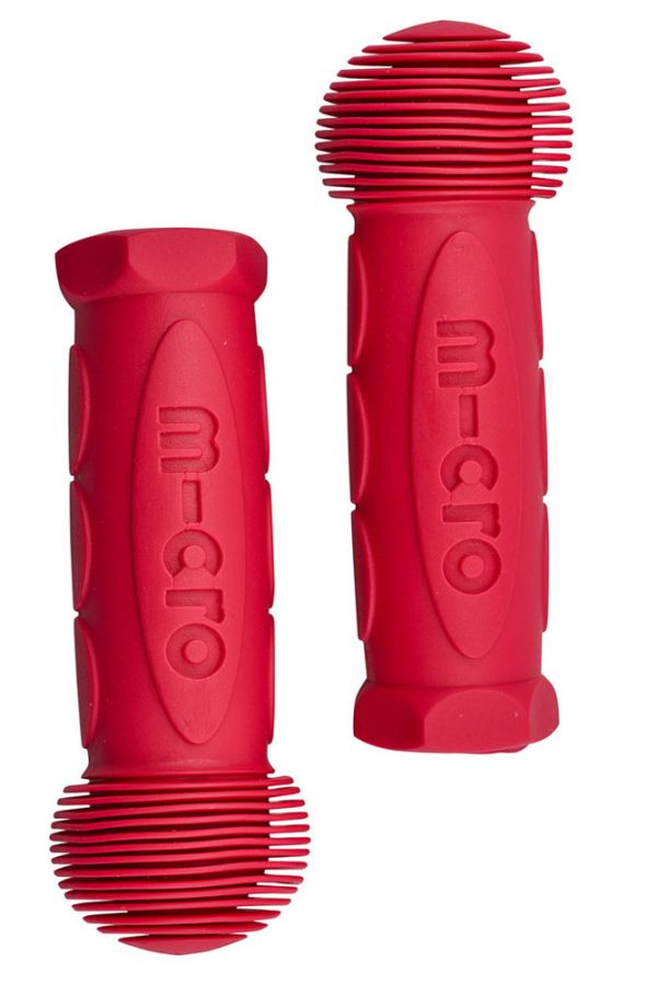 Rubber handles Ruby Red