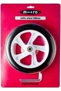 Rueda Micro White 200mm